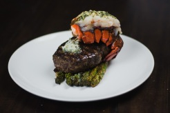 Grilled Filet and Lobster Tail Surf and Turf