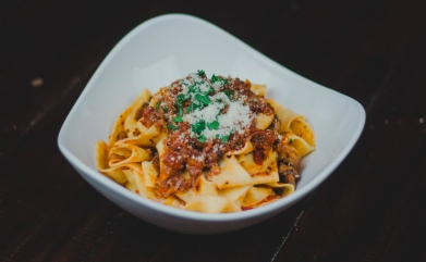 Ox Tail Ragu with Pappardelle Pasta
