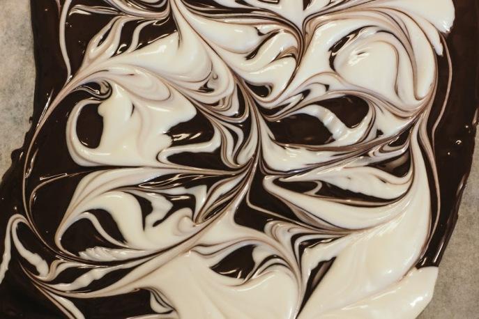 Dark Chocolate Holiday Bark