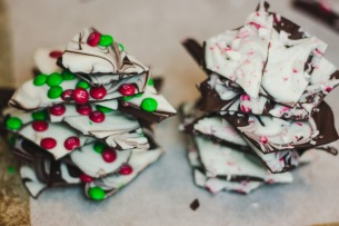 Dark Chocolate Holiday Bark