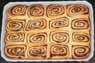 Cinnamon Rolls with Vanilla Bean Icing