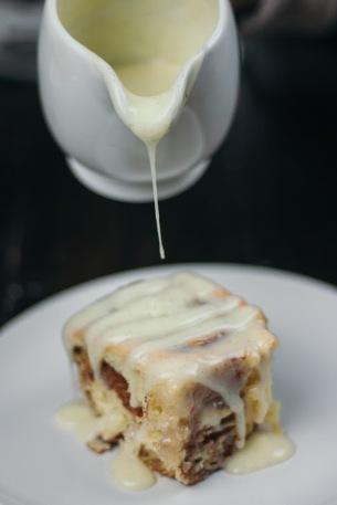 Cinnamon Rolls with Vanilla Bean Icing